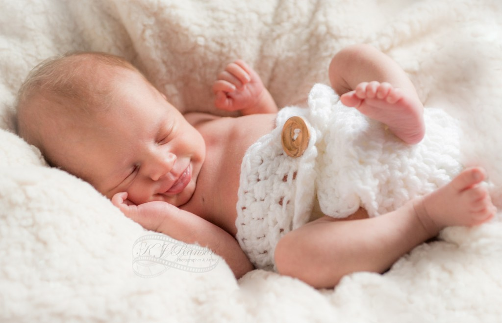 Newborn home shoot