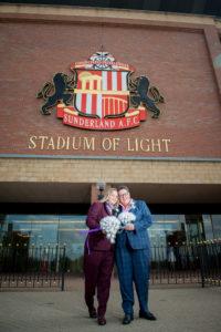 wedding stadium of light