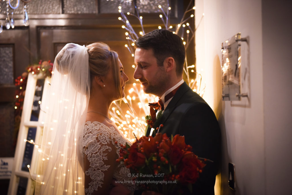 Ellingham hall Christmas wedding