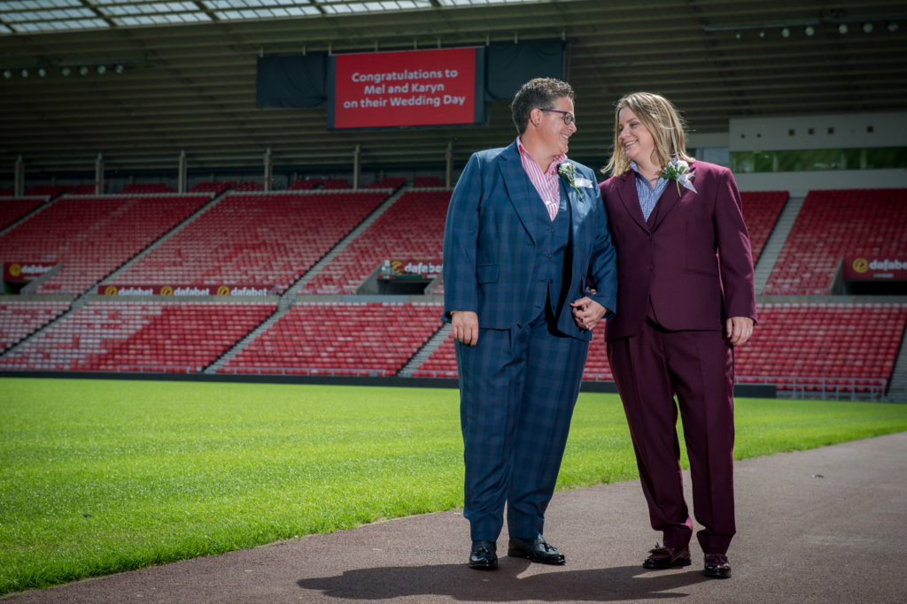 wedding stadium of light