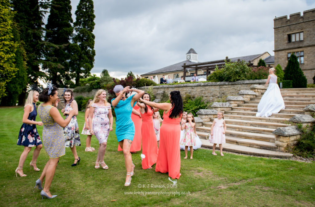 Slaley Hall wedding